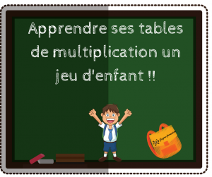 Un site super pour apprendre tes tables de multiplications for Apprendre la multiplication