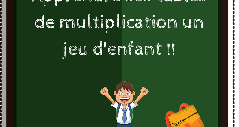 Multiplication apprendre ses table de multiplication for Apprendre la multiplication