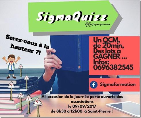 SIGMAQUIZZ- Remerciements aux sponsors et aux participants !!!